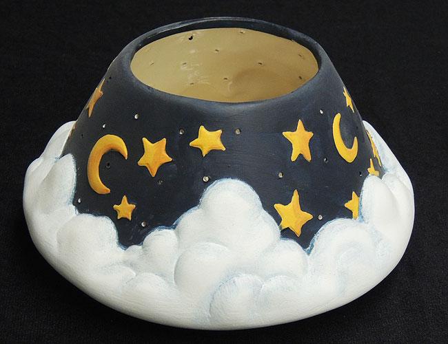 moonstarcandleholderGem-Ceramic-Mold-Lancaster-Denver-
